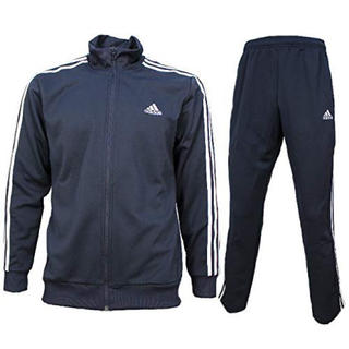 adidas - adidas black セットアップ 上下 punpee ECD