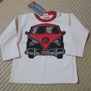 エーアーベー(eaB)の♠️eab 80 新品 長袖 2枚(Tシャツ)