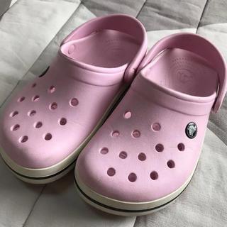 crocs - クロックス ピンク 大人用