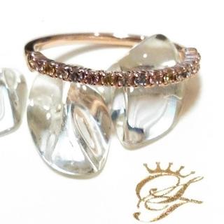 サマンサティアラ(Samantha Tiara)のサマンサティアラ k10 エタニティリング(リング(指輪))