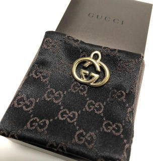 Gucci - グッチ(GUCCI)  インターロッキングGネックレストップ