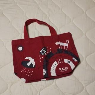 カルディ(KALDI)のKALDI ミニトートバッグ(日用品/生活雑貨)