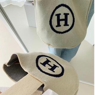 アメリヴィンテージ(Ameri VINTAGE)の新品♡Knit shoulder bag   Hハンドバッグ(ハンドバッグ)