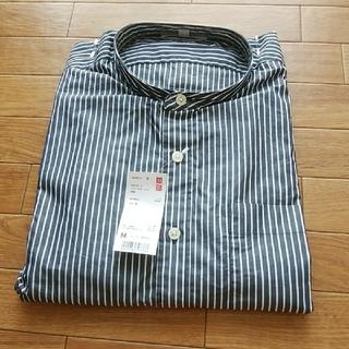 ユニクロ(UNIQLO)のスタンドカラーシャツ 長袖(シャツ)