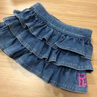 ロニィ(RONI)の【再値下げ】ロニ  デニムスカート  100cm(スカート)