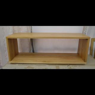 ムジルシリョウヒン(MUJI (無印良品))の『重量感あり!★』無印良品 muji 無垢材テーブルベンチ(コーヒーテーブル/サイドテーブル)