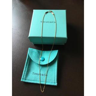 Tiffany & Co. - Tiffany ティファニー ネックレス チェーン トップ無し 18金