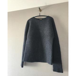 ドゥロワー(Drawer)の美品 Drawerドゥロワー カシミヤウール アゼ編みニットセーター(ニット/セーター)