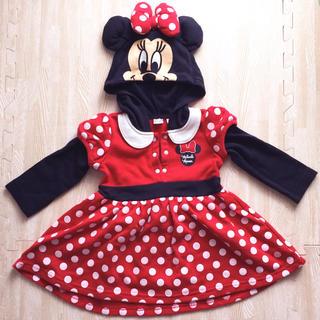 Disney - ミニーちゃん ワンピース 80