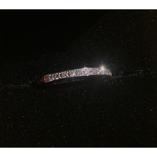 ジュエリーツツミ(JEWELRY TSUTSUMI)の★美品★PT900 ピンクダイヤモンド ピンキー エタニティリング 1号(リング(指輪))