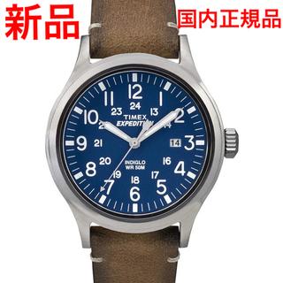 タイメックス(TIMEX)の国内正規品 Timex expedition スカウトメタル TW4B01800(腕時計(アナログ))