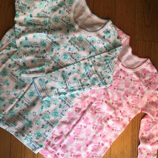 しまむら - 新品未使用品 女児 8分袖インナー 110 2枚組 女の子 下着