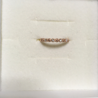 ジュエリーツツミ(JEWELRY TSUTSUMI)のジュエリーツツミ🌟K10 ピンクゴールド ダイヤモンドリング 11号①(リング(指輪))