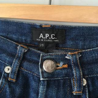 A.P.C - APC デニム ジーンズ 26 ハイウエスト bootleg セルビッジ