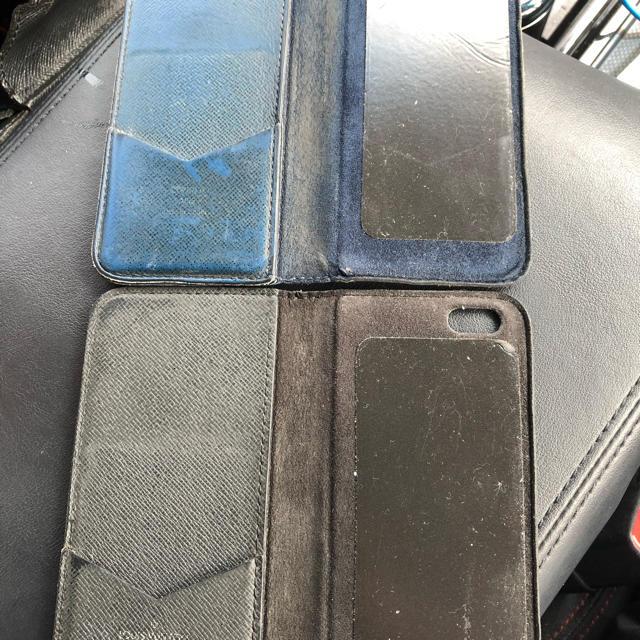 LOUIS VUITTON - ルイヴィトン iPhone7ケース 8 中古 2セット ブラック ブルー タイガの通販 by ひろ's shop|ルイヴィトンならラクマ