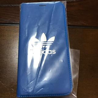 アディダス(adidas)の【iPhone X/XS】adidas レザー手帳ケース(iPhoneケース)