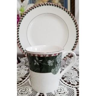 ウェッジウッド(WEDGWOOD)のウェッジウッド マンハッタン マグカップと皿(食器)