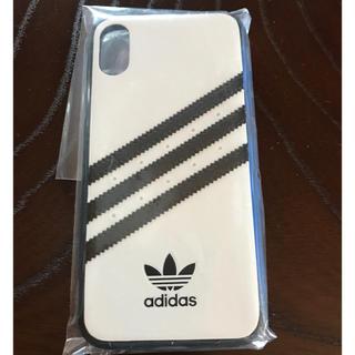 アディダス(adidas)の【iPhone X/XS】adidas レザーケース(iPhoneケース)