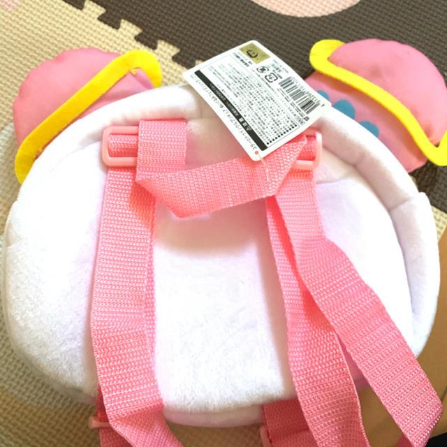 フワ ぬいぐるみ フェイス リュック キッズ/ベビー/マタニティのこども用バッグ(リュックサック)の商品写真
