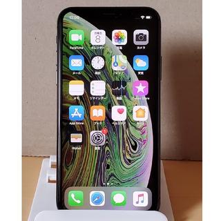 Apple - iPhoneXS 64GB スペースグレー SIMロック解除済