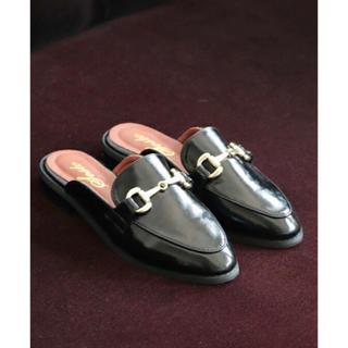 ディーホリック(dholic)のブラック ローファー(ローファー/革靴)