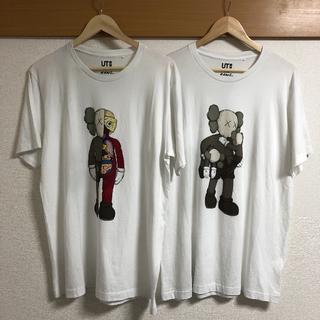 ユニクロ(UNIQLO)のkaws ut 二枚セット(Tシャツ/カットソー(半袖/袖なし))