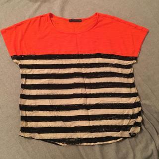 ローズバッド(ROSE BUD)の✨NYで購入 ボーダーTシャツ✨(Tシャツ(半袖/袖なし))