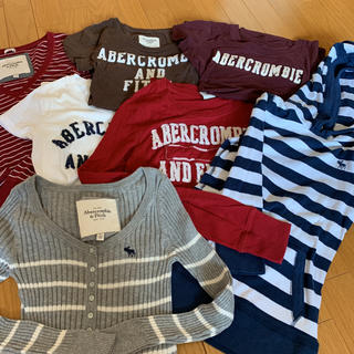 Abercrombie&Fitch - アバクロ トップス まとめ売り 7枚 美品