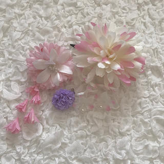 シマムラ(しまむら)のAvail 髪飾り 3点セット(バレッタ/ヘアクリップ)