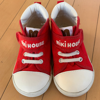 ミキハウス(mikihouse)のミキハウス定番スニーカー15.5cm美品(スニーカー)