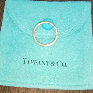 ティファニー(Tiffany & Co.)のティファニー ハマードリング 8号 750 K18(リング(指輪))
