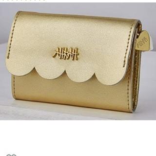 アーカー(AHKAH)のAHKAH    ゴールド  財布(財布)