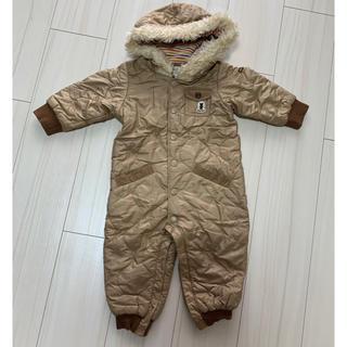 ミキハウス(mikihouse)のミキハウス black bear ジャンプスーツ 80 【美品】(ジャケット/コート)