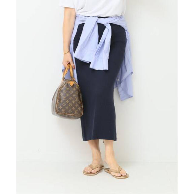 MADISONBLUE(マディソンブルー)のDeuxieme Classe MADISONBLUE WAFFLE スカート レディースのスカート(ロングスカート)の商品写真
