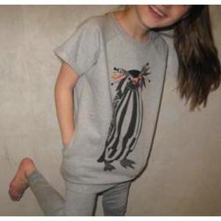 コドモビームス(こども ビームス)のソフトギャラリー softgallery 半袖 スウェット チュニック キッズ(Tシャツ/カットソー)