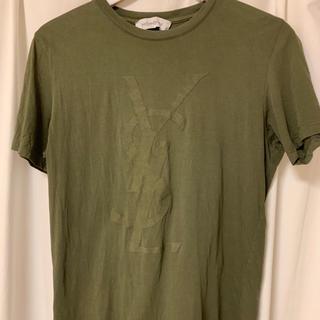 サンローラン(Saint Laurent)のイブサンローラン カーキTシャツ(Tシャツ/カットソー(半袖/袖なし))