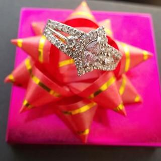 鑑別付き☆ピンクダイヤ ピンクダイヤモンド(リング(指輪))