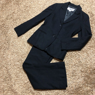 ナチュラルビューティーベーシック(NATURAL BEAUTY BASIC)の値下げ交渉OK ナチュラルビューティベーシック シングル パンツスーツ ブラック(スーツ)