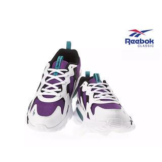 リーボック(Reebok)のReebok ダッドスニーカー ダッドシューズ パープル ホワイト 白 紫(スニーカー)