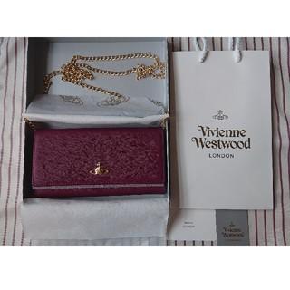 Vivienne Westwood - 【新品未使用】Vivienne Westwood 長財布 チェーン付き バートン