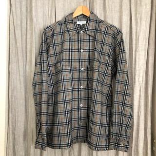ニジュウサンク(23区)の[新品!]秋柄グレンチェックシャツ(シャツ)