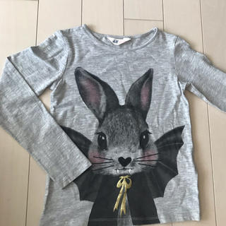 エイチアンドエム(H&M)の長袖Tシャツ☆130cm(Tシャツ/カットソー)