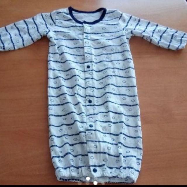 COMME CA ISM(コムサイズム)のコムサイズム カバーオール  50-70 中古 キッズ/ベビー/マタニティのベビー服(~85cm)(カバーオール)の商品写真