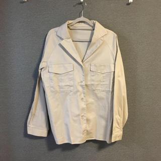 センスオブプレイスバイアーバンリサーチ(SENSE OF PLACE by URBAN RESEARCH)のセンスオブプレイス オープンカラーシャツ ジャケット(シャツ/ブラウス(半袖/袖なし))