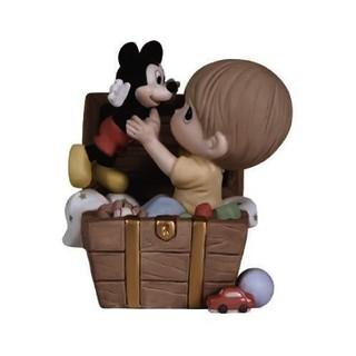 Disney - プレシャスモーメンツ Disney showcase ミッキーと男の子