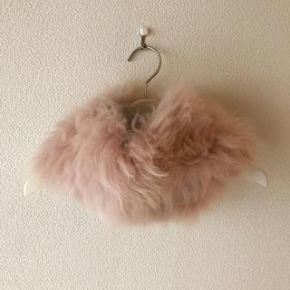 フルラ(Furla)の新品タグ⭐️ FURLA フルラ スヌード カシミヤファー ふわふわ ピンク(マフラー/ショール)