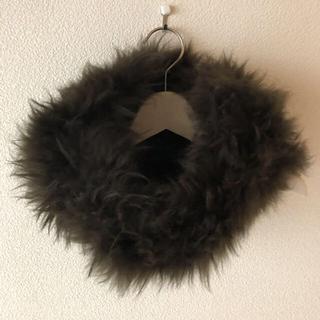 フルラ(Furla)の新品タグ⭐️ FURLA フルラ 山羊 カシミヤファー スヌード(マフラー/ショール)