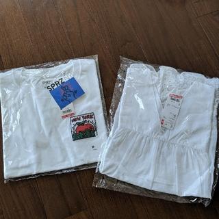 ユニクロ(UNIQLO)のTシャツ(Mサイズ)ブラウス(Sサイズ)(Tシャツ(半袖/袖なし))