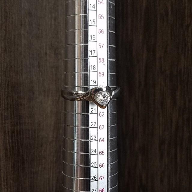 新品 20号ステンレスリング Heart 22212-F04 レディースのアクセサリー(リング(指輪))の商品写真