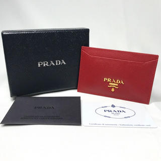 PRADA - プラダ 1M0208 サフィアーノ カードケース パスケース